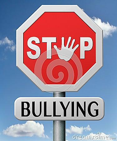Free Stop Bullying No School Bully Royalty Free Stock Image - 31031296