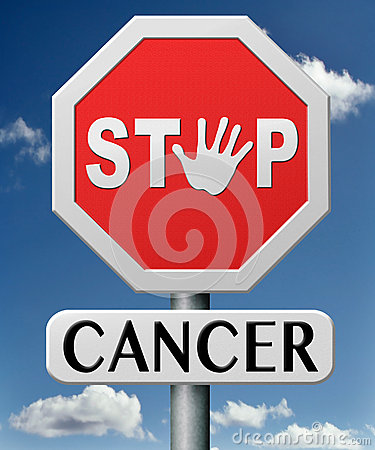 Free Stop Cancer By Prevention Stock Photos - 29297853