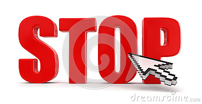 Stop and cursor (clipping path included)