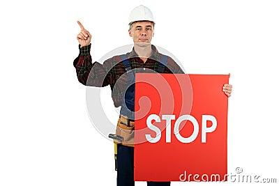 Stop danger