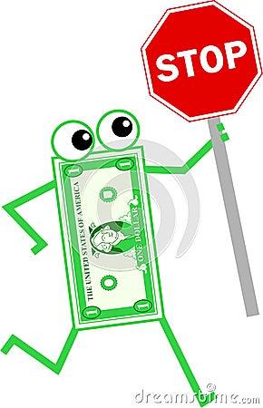 Stop dollar