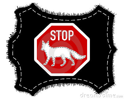 Stop fox fur