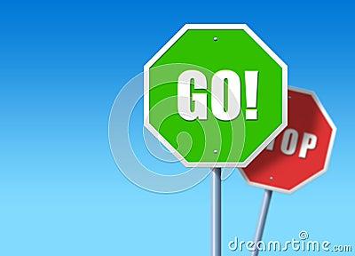 Stop, Go