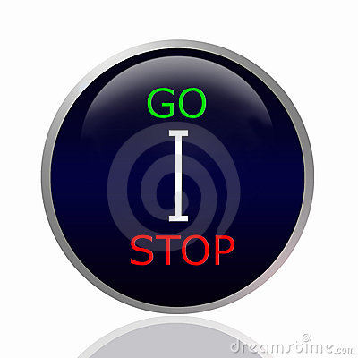 Stop and go shift stick