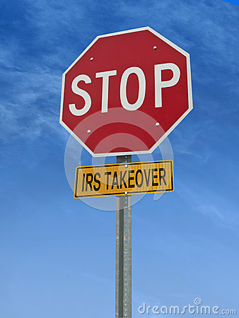 Stop irs takeover post sign