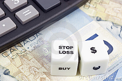 Stop loss Canadian dollar