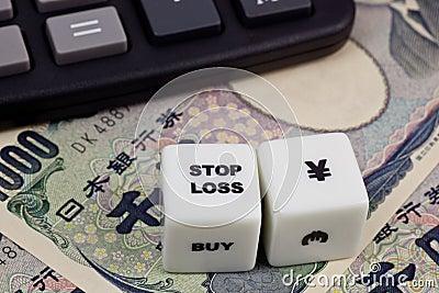 Stop loss Japanese Yen