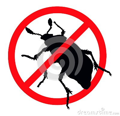 Free Stop Pests Royalty Free Stock Photo - 27312835