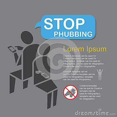 Stop Phubbing, infographics .