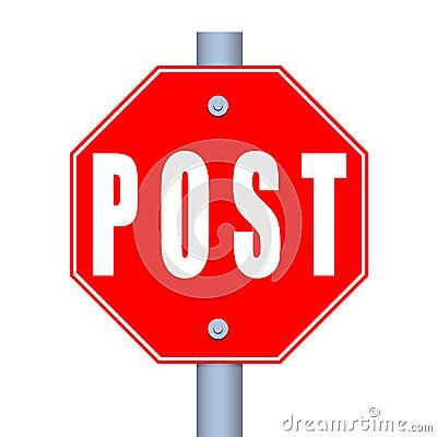 Stop Post