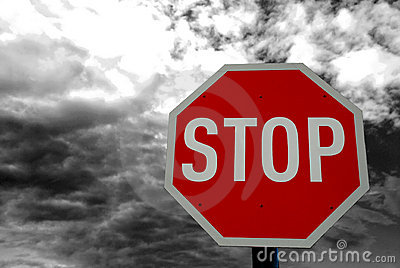 Stop Road Traffic Sign