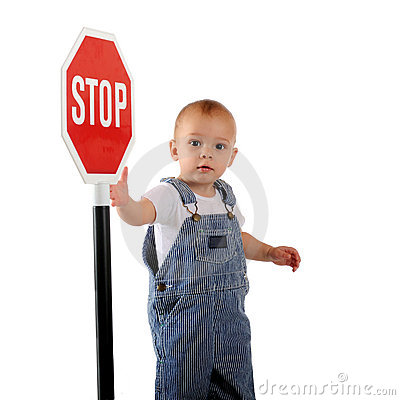 Stop Sign Baby Royalty...