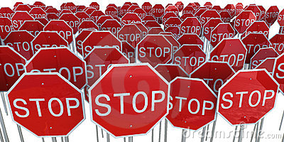 Stop Signs Stock Images - Image: 7013524