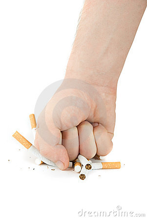Free Stop Smoking! Royalty Free Stock Image - 9410066