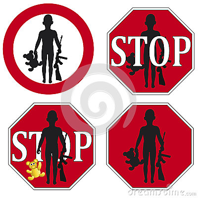 Stop the use of Child Soldier