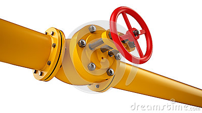 Stop valve and pipe