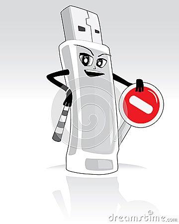 Stop virus -vector