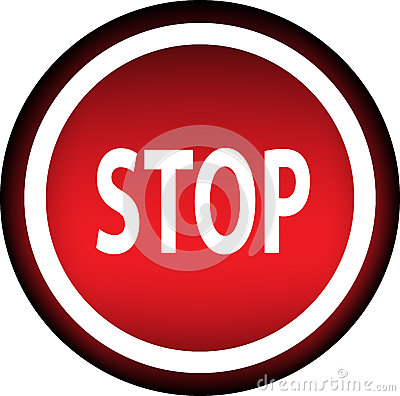 Stop. Warning.