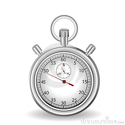 Stop watch, no meshes or transparencies