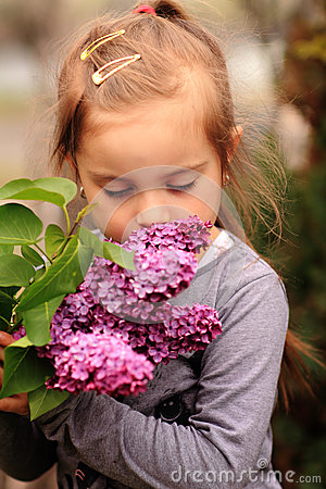 Free Stopping To Smell The Flowers Stock Images - 53005384