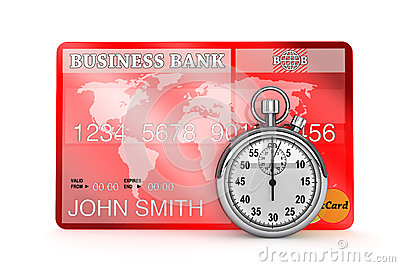 StopWatch with Credit Card