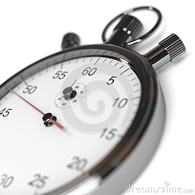 Stopwatch Defocused
