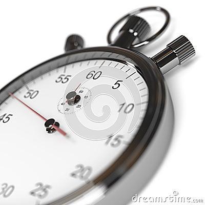 Stopwatch Defocused