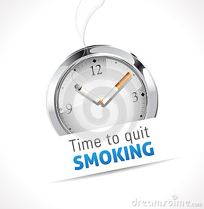 Free Stopwatch - Time To Quit Smoking Stock Photo - 39845360
