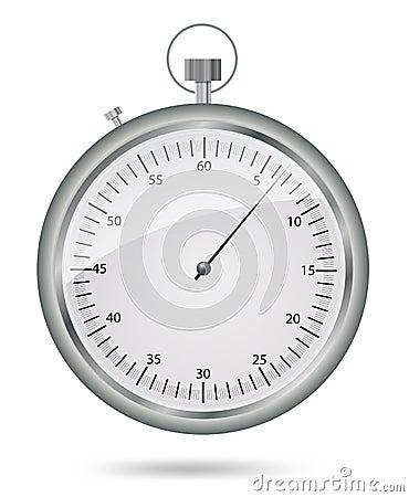 Stopwatch, vector eps10 illustration