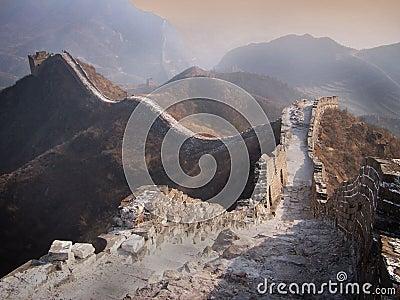 Stor vägg av Kina