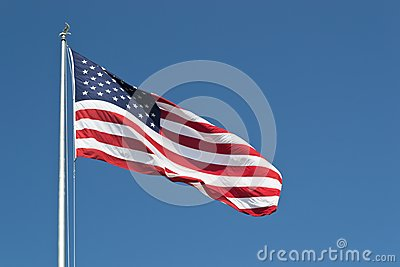 Stora United States Flag horisontal