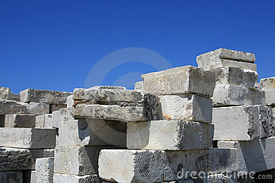 Storage concrete blocks