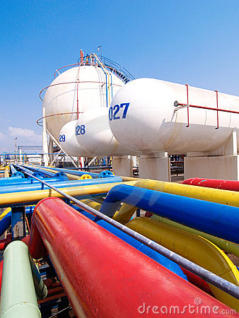 Gas tanks for storage LPG propane and propylene ga