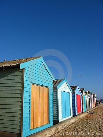 Storage Sheds on the Beach