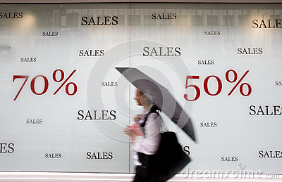 Store advertising sales