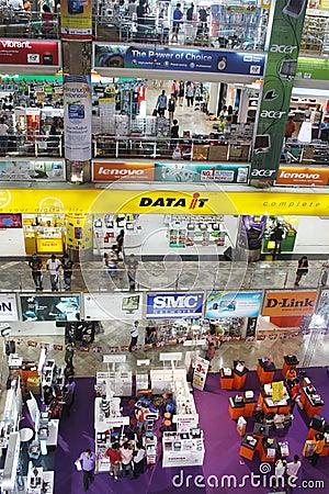 IT Store in Bangkok Editorial Image