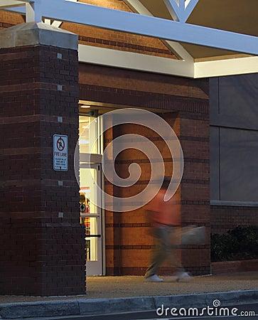 Store Front, Night Scene