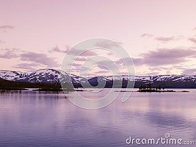 Store Majavatnet lake