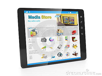 Store media applications