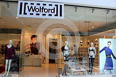 Wolford - fashion and hosiery Editorial Photo