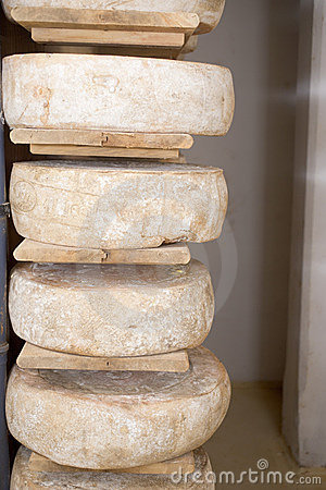 Stored cheese