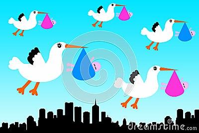 Stork city