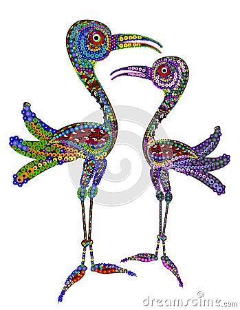 Free Storks Royalty Free Stock Photos - 10509558
