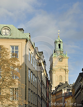 Free Storkyrkan (Church Of St. Nicholas - The Great Church) In Stockholm. Sweden Stock Photos - 51921553