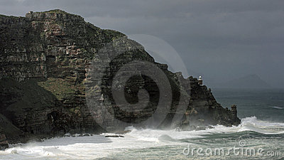 Storm at Cape Point