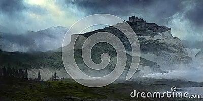 Storm Castle illustration