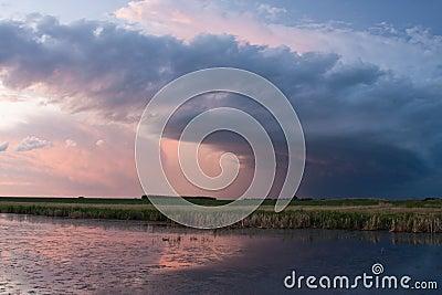 Storm Cloud on the Prairies