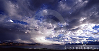 Storm cloud,supercell