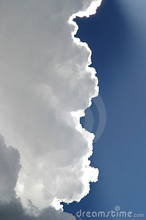 Free Storm Clouds In Blue Sky Stock Image - 41271