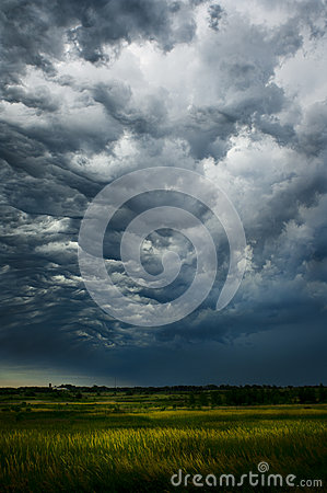 Free Storm Front Stock Photography - 25603102